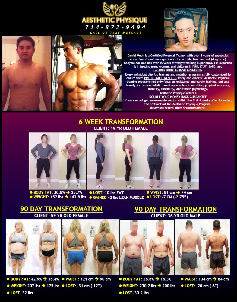 Lost 10 lbs of Fat! Gained 2 lbs of Lean Muscle! - Yelp