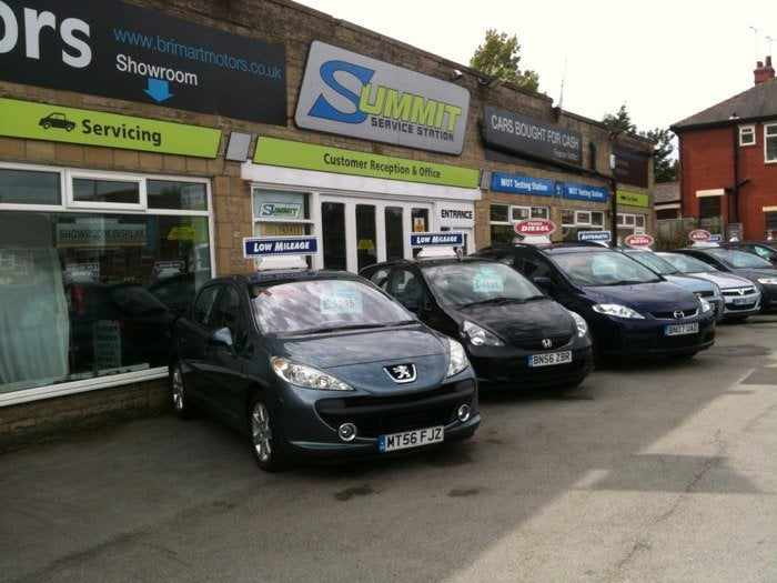 Summit Service Station Motor Vehicle Inspection Testing Bury New Road Heywood Greater