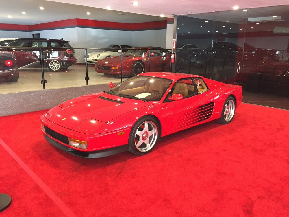 Exotic Euro Cars >> Just One Of Many Beautiful Ferraris They Have Yelp