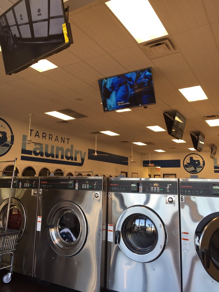 Tarrant Laundry: 5866 S Hulen St, Fort Worth, TX