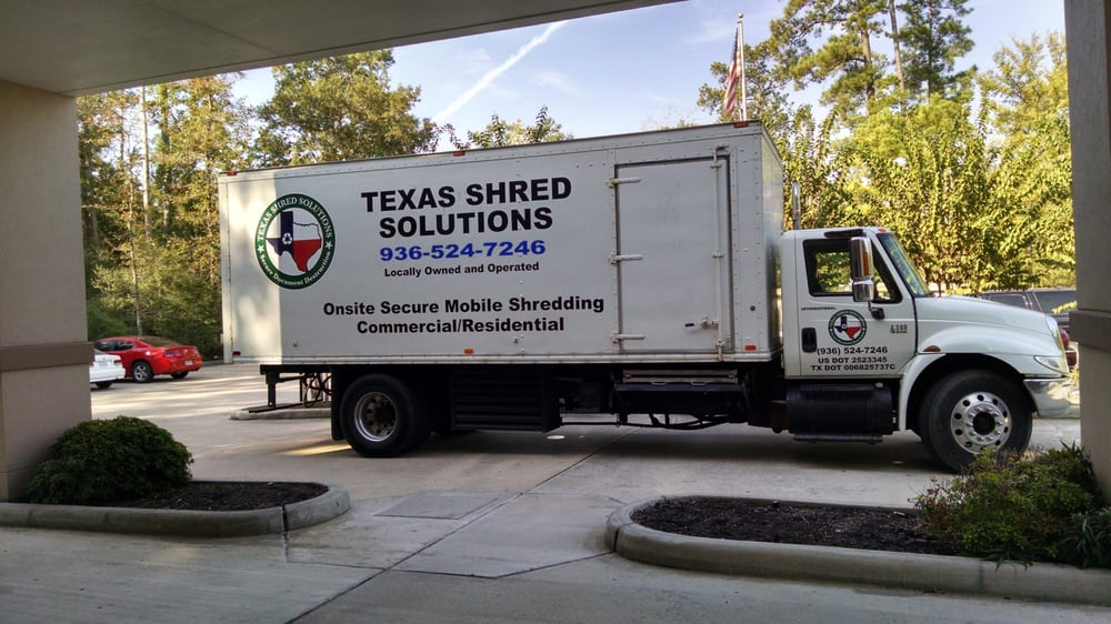 Texas Shred Solutions: 10977 Northridge Dr, Conroe, TX