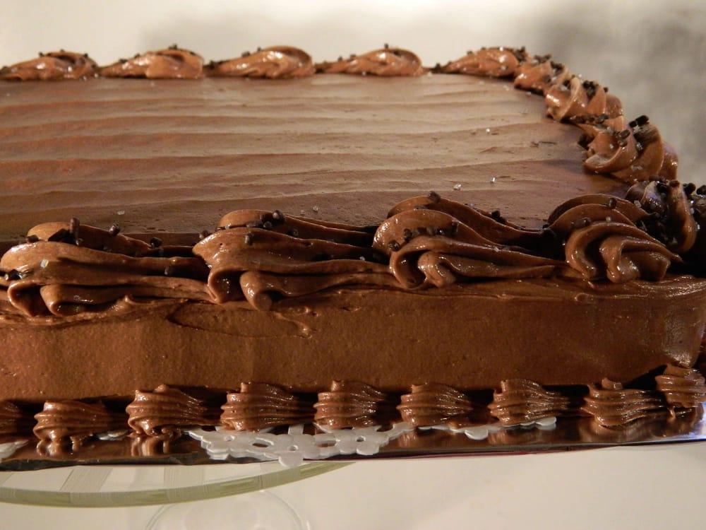 Rectangle Chocolate Cake Recipe Uk