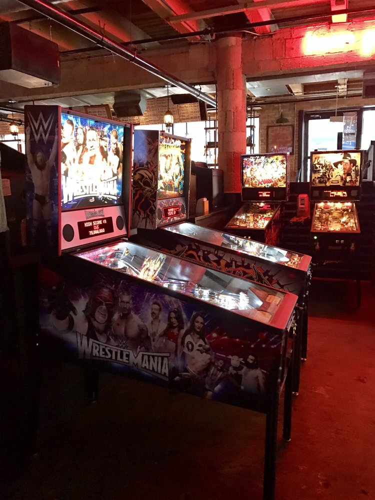 Just a few of the pinball machines - Yelp