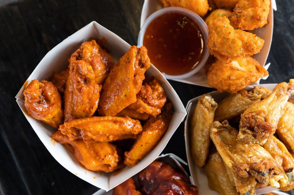 Food from Wing Snob