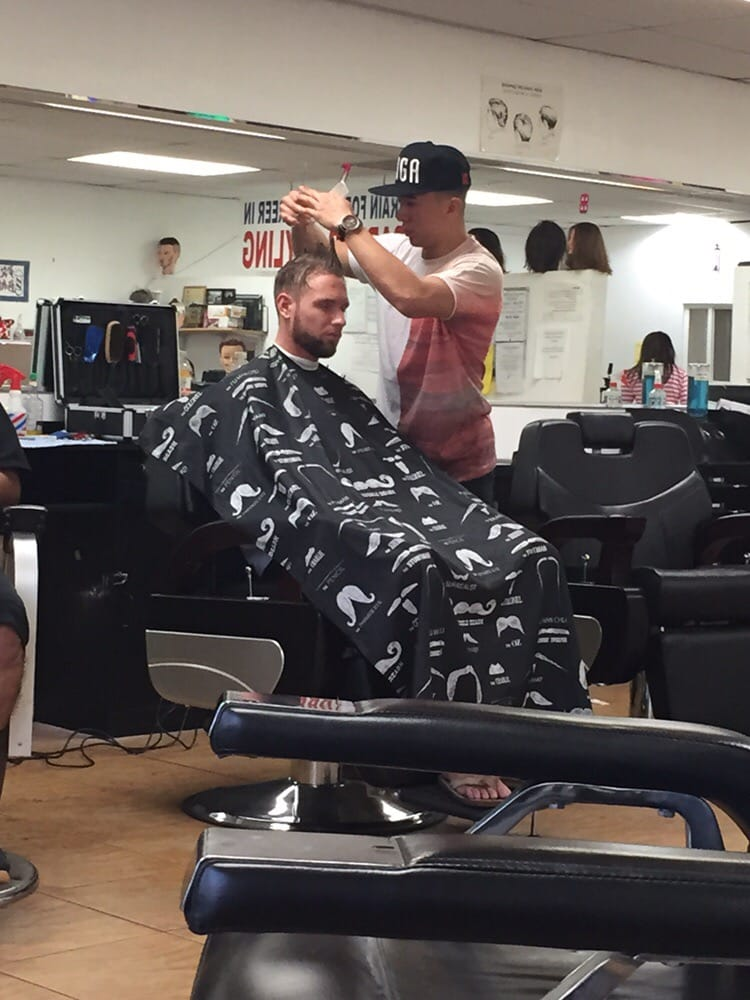 Dalton S Special Time With His Favorite Barber Pat Yelp