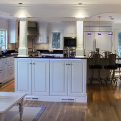 Genial Photo Of Dream Kitchens   Nashua, NH, United States. Large White Kitchen  With