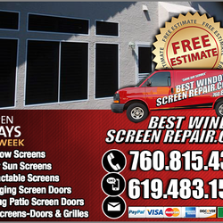 Photo Of Best Window Screen Repair   San Diego, CA, United States. Reliable