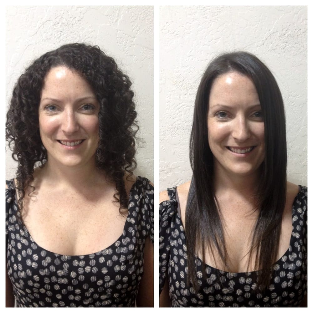 Before and after global keratin treatment yelp for Salon kerat in
