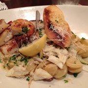 Shrimp And Scallop Orecchiette Pasta Yummy