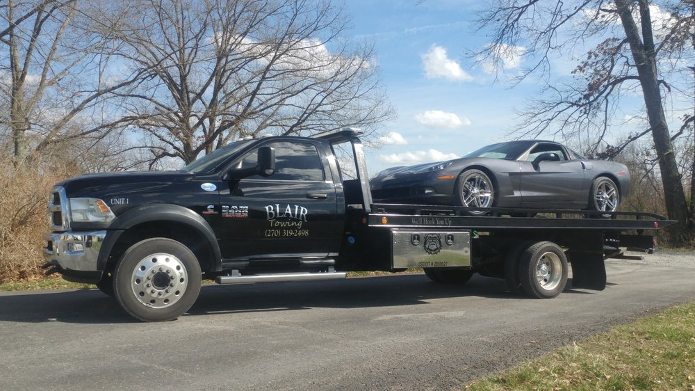 Blair Towing and Recovery: 245 Medley Dr, Ekron, KY