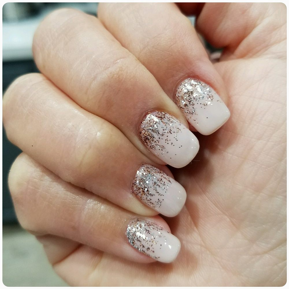 Christmas Nails Not Acrylic: Beautiful Holiday Nails By Cindy! Acrylic With Gel And