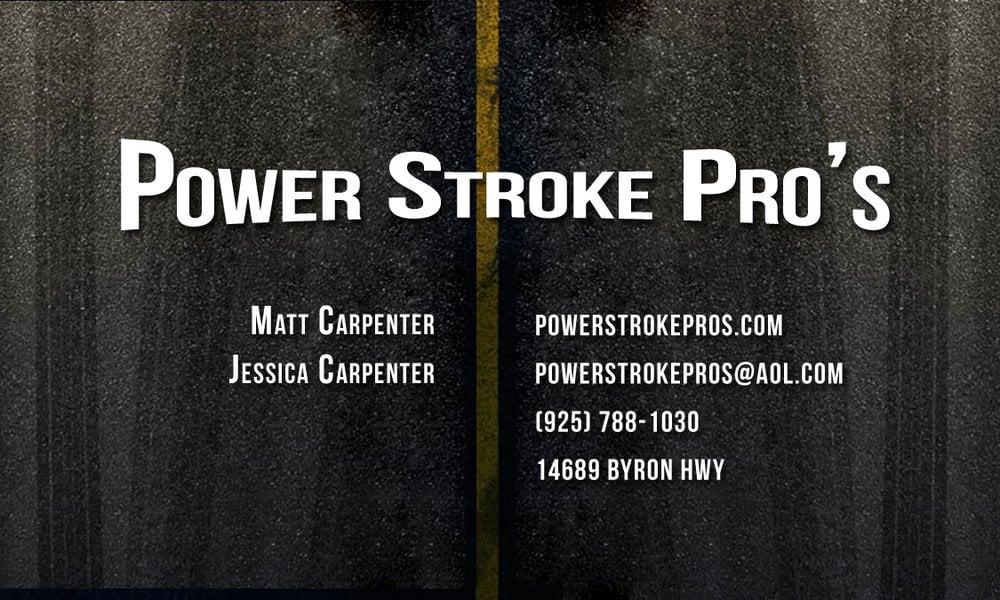 Power Stroke Pro's: 14689 Byron Hwy, Byron, CA
