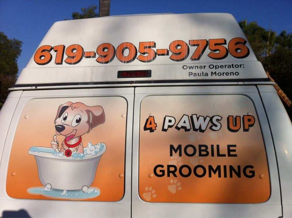 4 Paws Up Mobile Grooming: 400 Greenfield Dr, El Cajon, CA