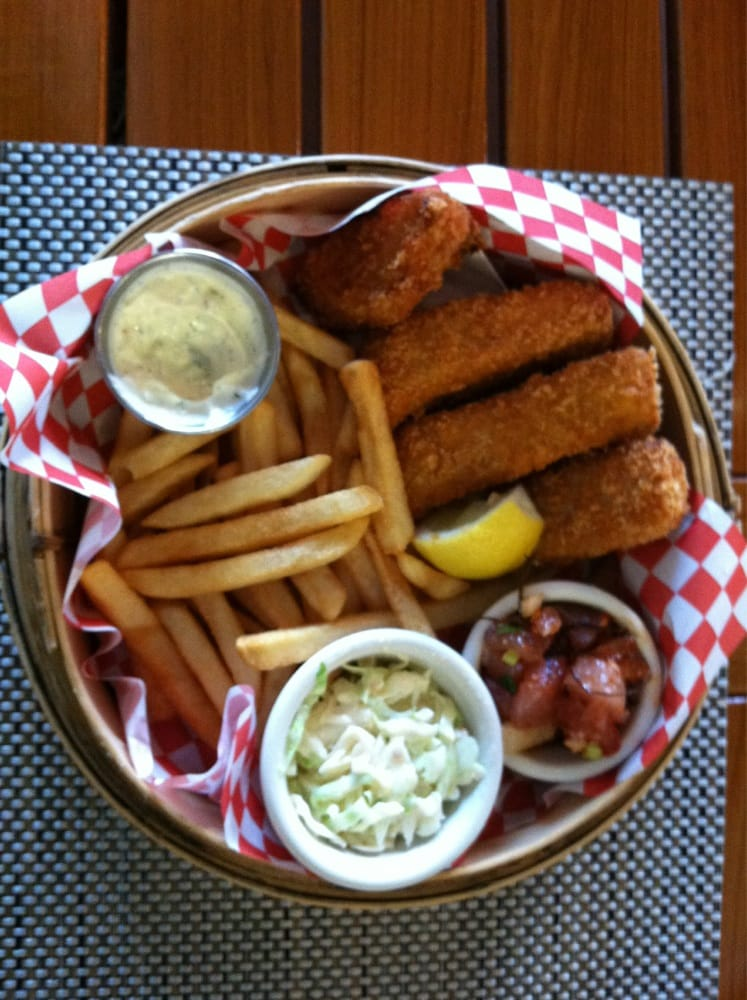 Mahi mahi fish and chips basket yelp for Uncle s fish market and grill