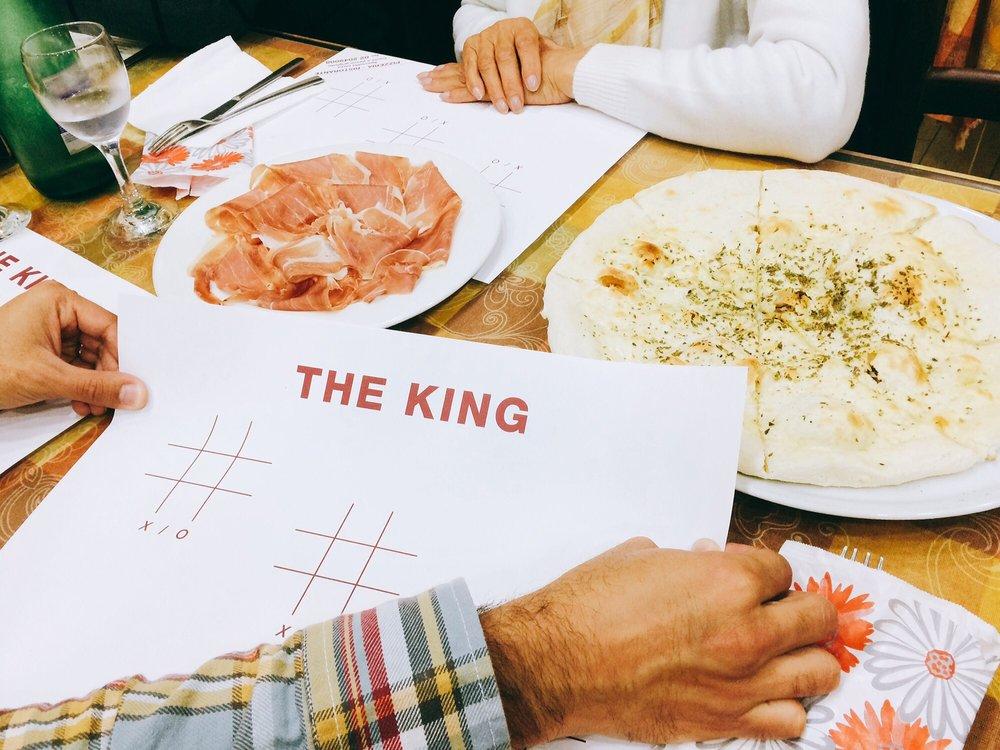 Pizzeria del King