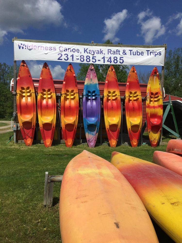 Wilderness Canoe Trips: Mesick, MI