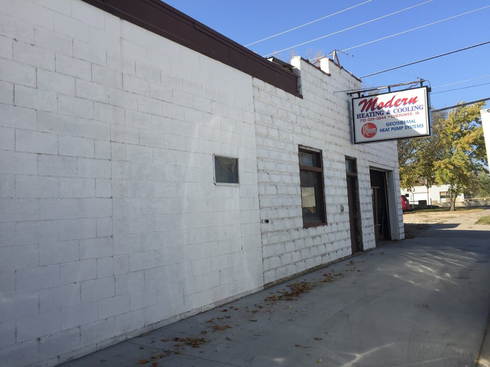 Modern Heating & Cooling: 109 Sioux St, Cherokee, IA
