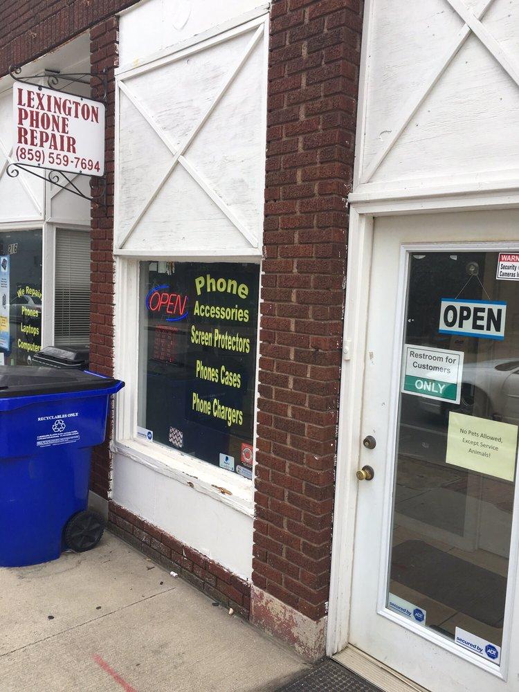 Lexington Phone Repair: 216 S Limestone, Lexington, KY
