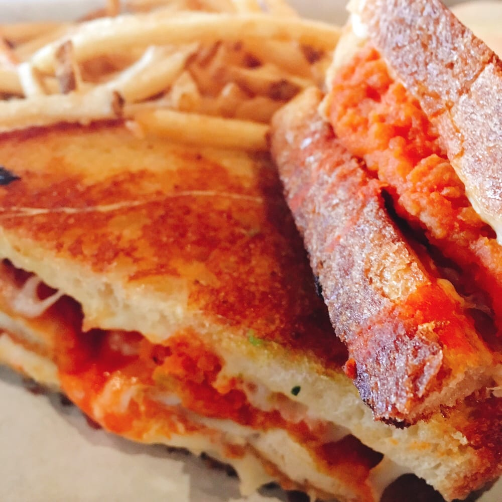 ... - Newark, CA, United States. Buffalo chicken grilled cheese sandwich