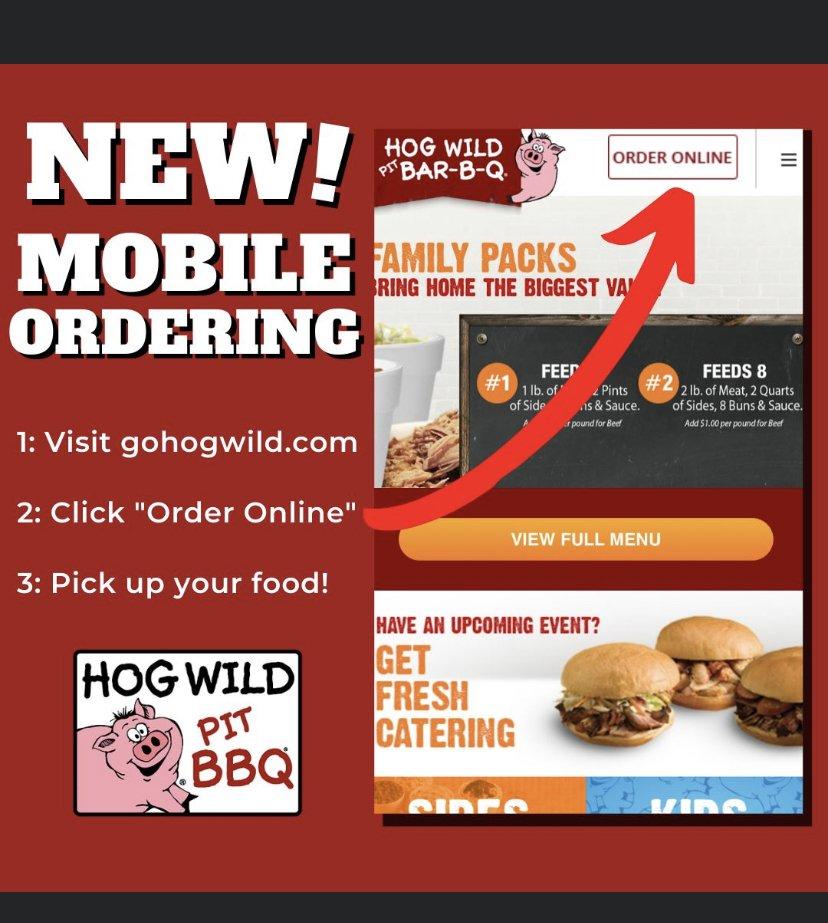 Hog Wild Pit Bar-B-Q: 3550 N Woodlawn Blvd, Wichita, KS