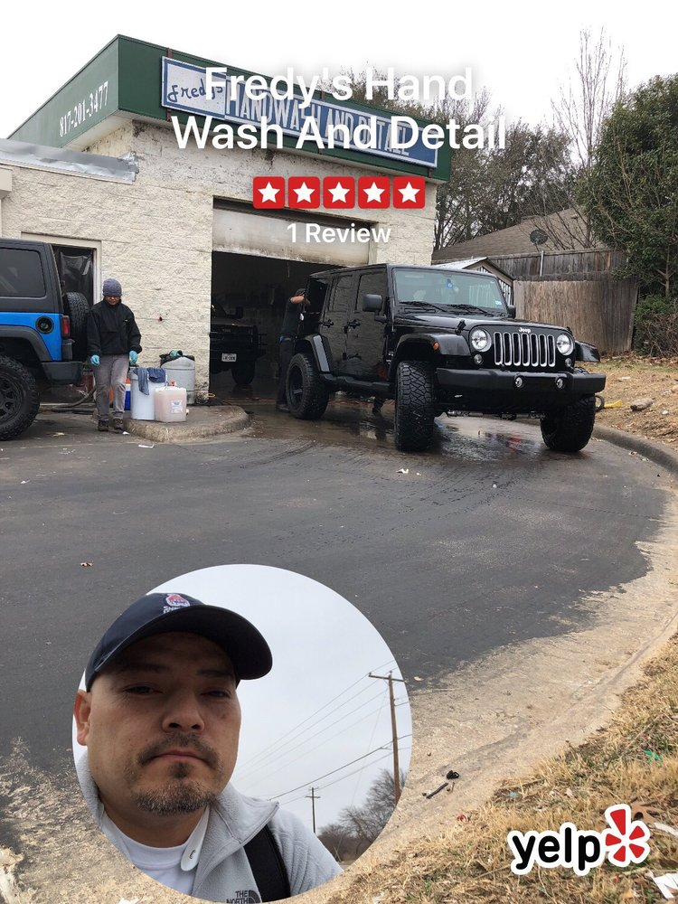 Fredy's Hand Wash And Detail: 8000 Chapin Rd, Benbrook, TX