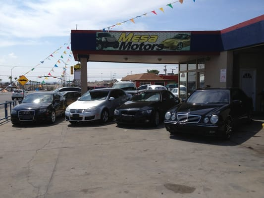 mesa motors car dealers 6354 n mesa el paso tx