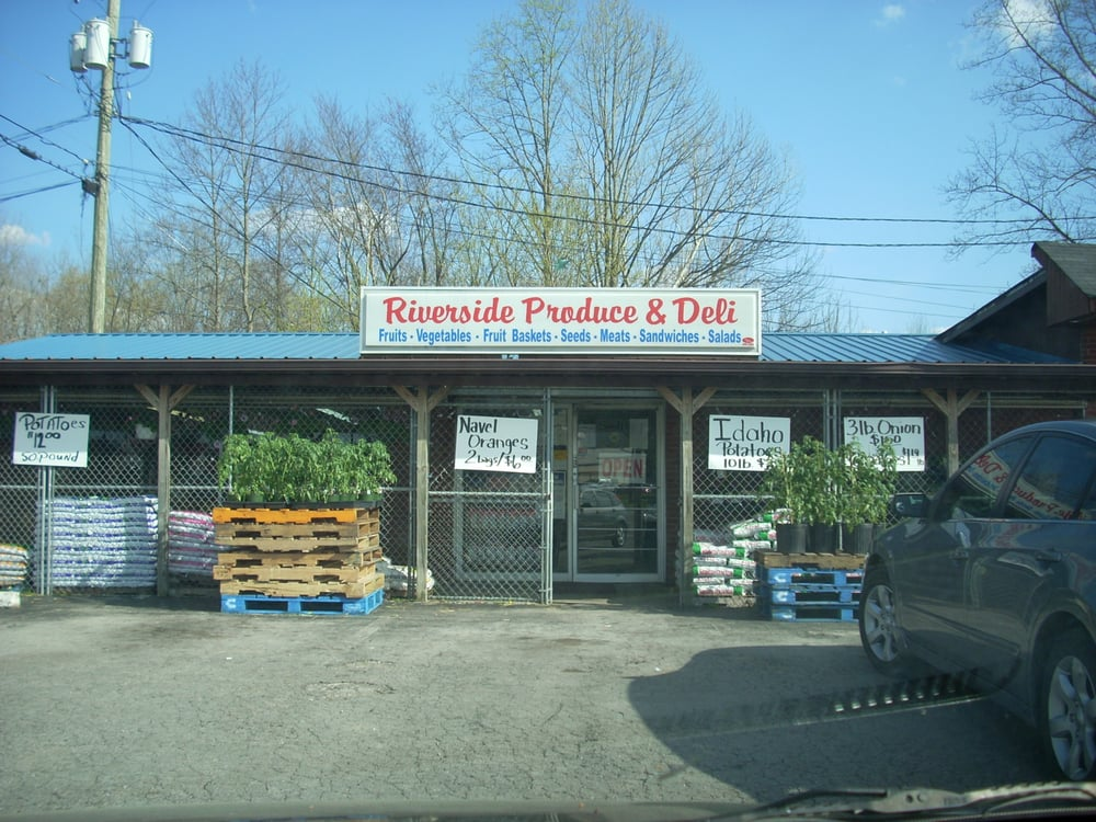 Food from Riverside Produce & Seed Store