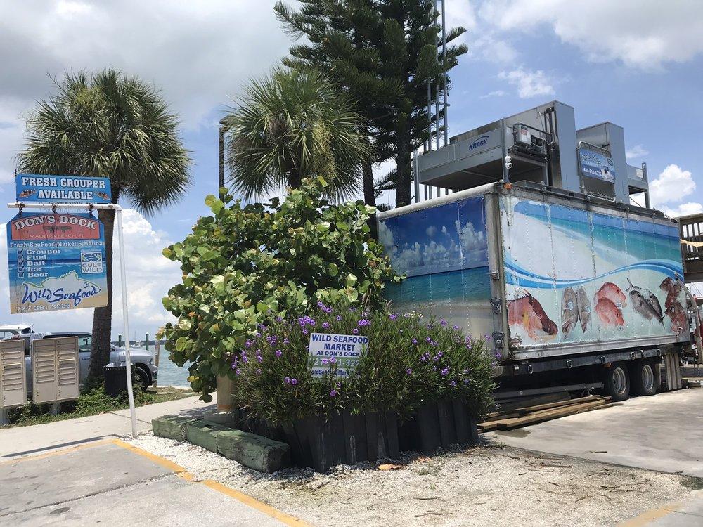 Wild Seafood Market at Don's Dock: 215 Boardwalk Pl E, Madeira Beach, FL