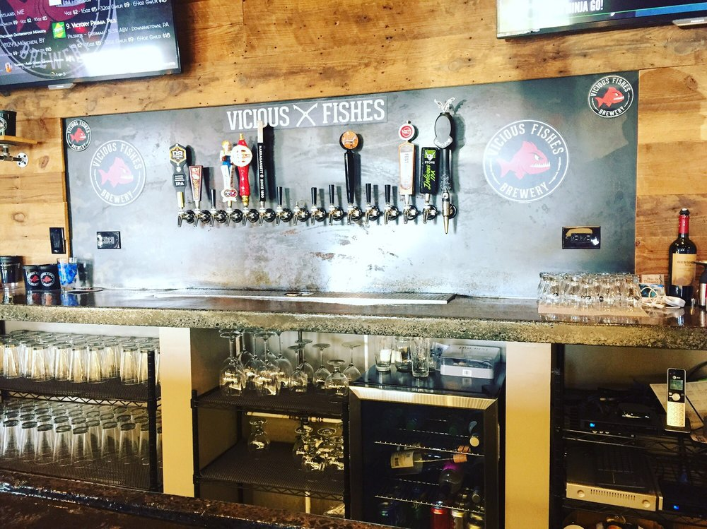 Vicious Fishes Brewery: 219 Fish Dr, Angier, NC