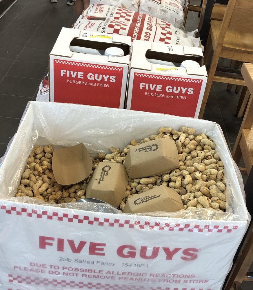 Five Guys - 17304 Chesterfield Airport Rd, Chesterfield, MO - 2019