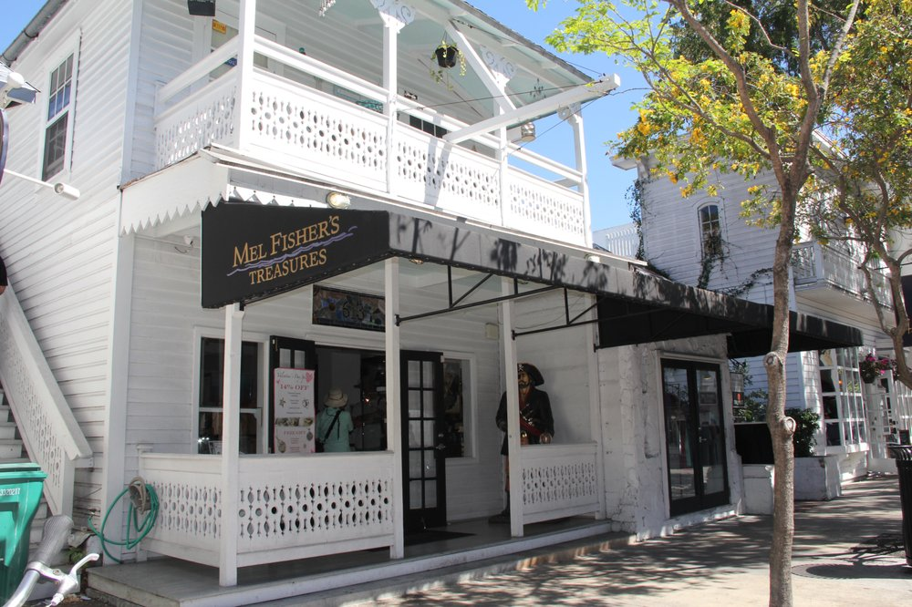 Mel Fisher's Treasures: 613 1/2 Duval St, Key West, FL