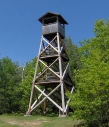 Abenaki Tower: Rte 109, Tuftonboro, NH