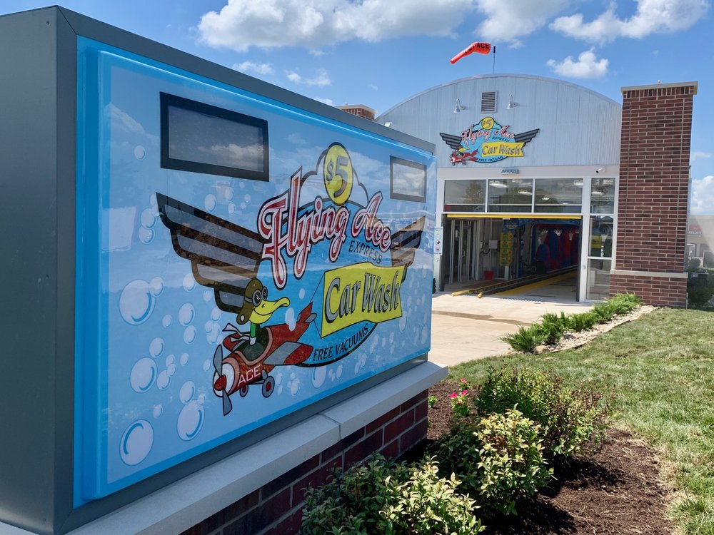 Flying Ace Express Car Wash: 201 N Springboro Pike, Dayton, OH