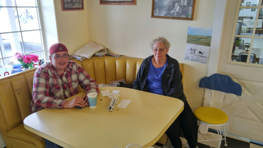 Goldie's Ice Cream: 218 E St, Shaniko, OR