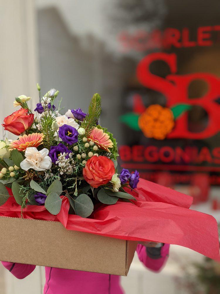 Scarlet Begonias: 36 Perry St, Lambertville, NJ