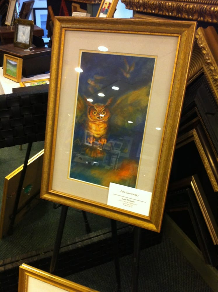 My owl looks prettier in a nice frame. - Yelp