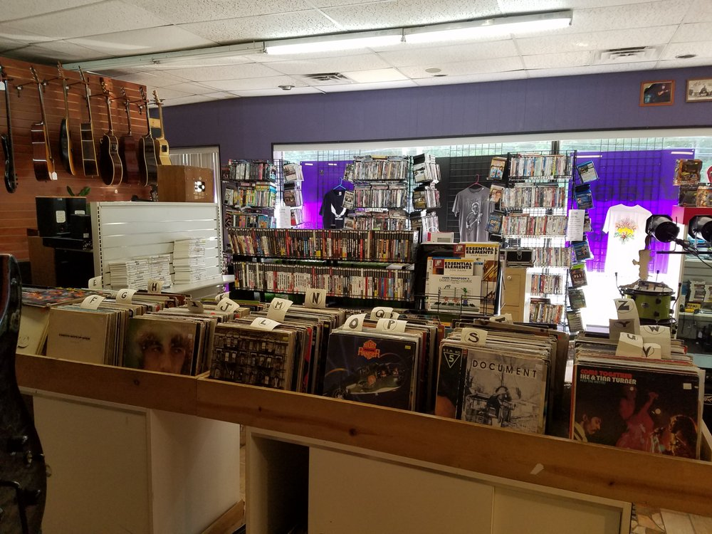 Wayne's World of Music Movies & Games: 419 Memorial Hwy, Dallas, PA
