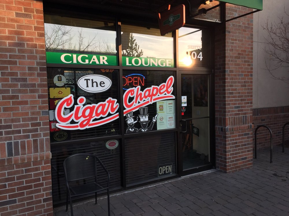 The Cigar Chapel: 109 NW Greenwood Ave, Bend, OR