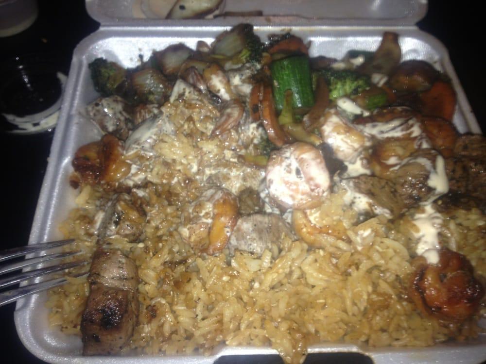Hibachi And Chinese Food