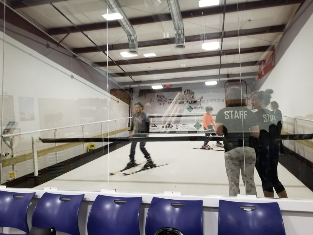 Inside Ski Training Center: 34-B Catoctin Cir SE, Leesburg, VA