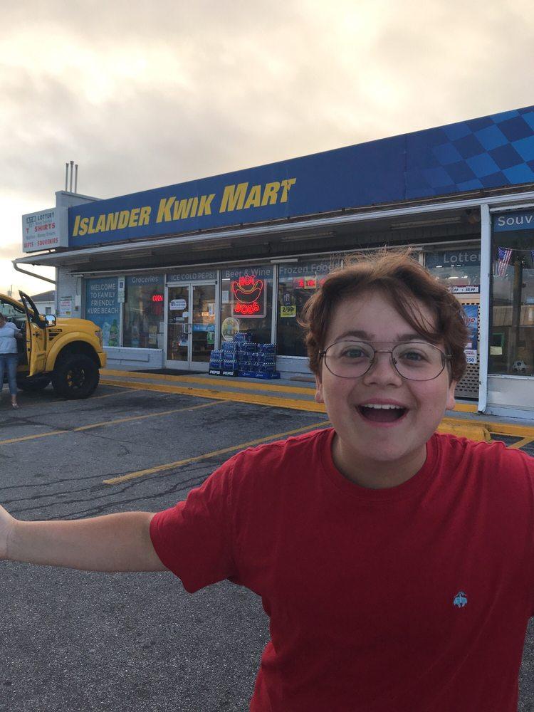 Islander Kwik Mart: 102 S Fort Fisher Blvd, Kure Beach, NC