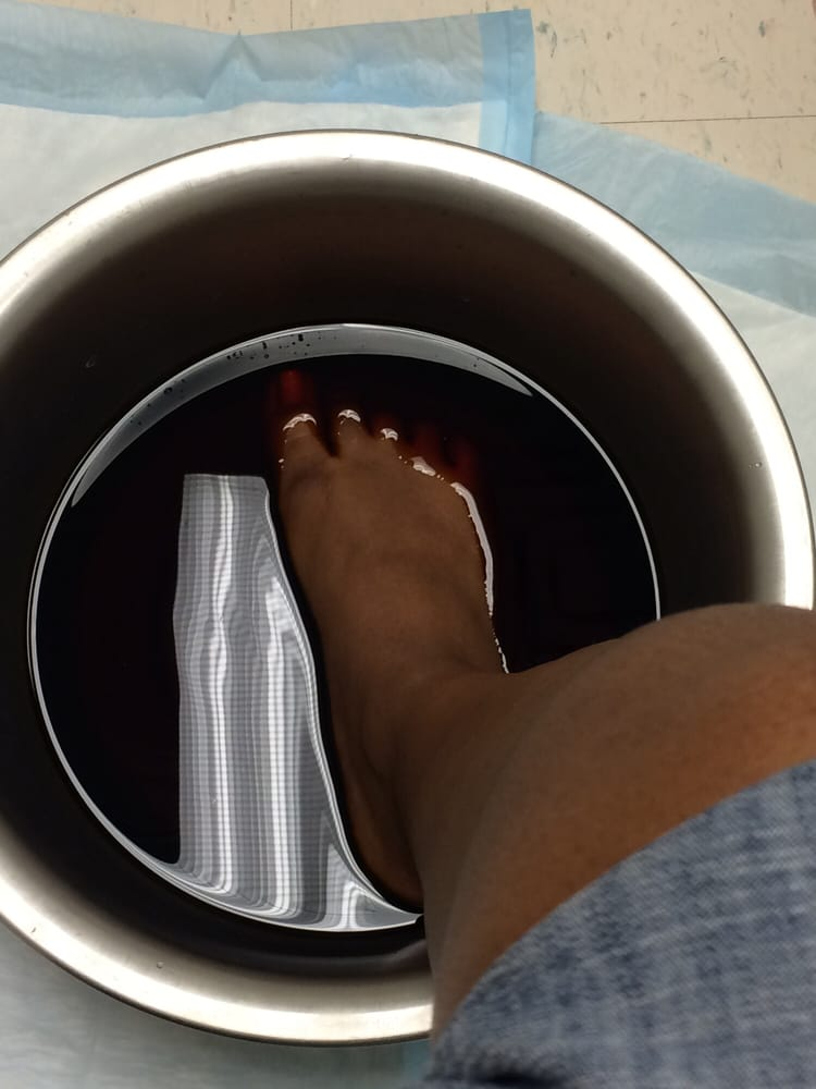 Iodine bath at Patient First - Yelp
