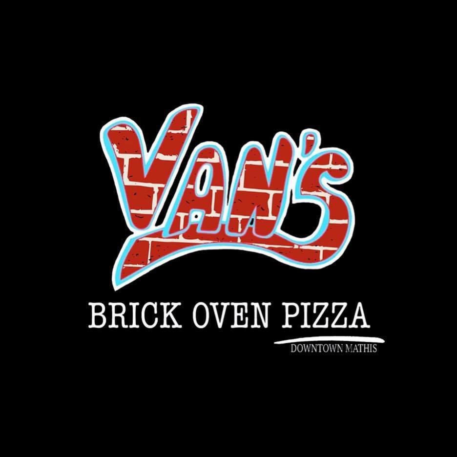 Van's Brick Oven Pizza: 120 E San Patricio St, Mathis, TX