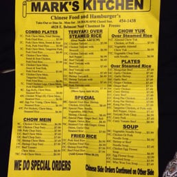 Photos for Mark\'s Kitchen | Menu - Yelp