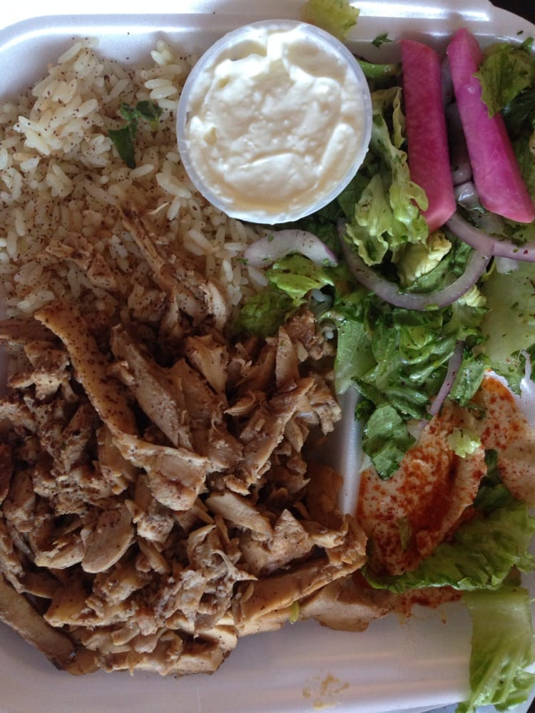 Chicken shawarma plate yelp for Alina s lebanese cuisine