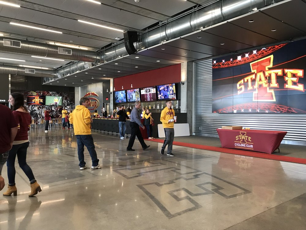 Iowa State Cyclones - Jack Trice Stadium: 1798 S 4th St, Ames, IA