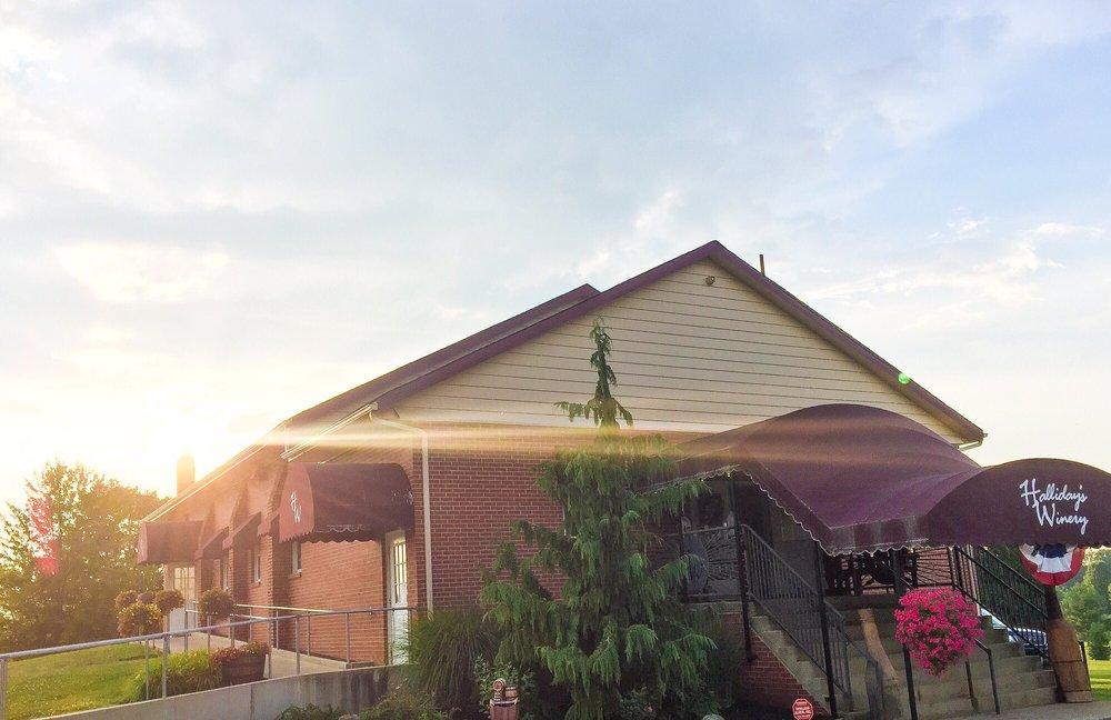 Halliday's Winery: 2400 NE River Rd, Lake Milton, OH