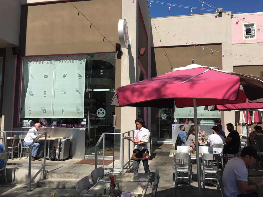 Outside seating yelp for Kitchen 24 west hollywood