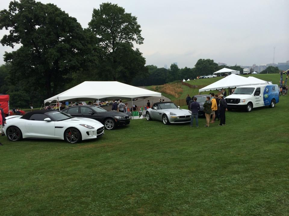 Our Hospitality Tent At The 2014 Pittsburgh Vintage Grand