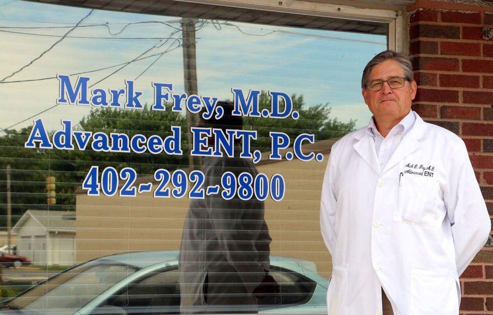 Mark Frey, MD - Advanced Ent: 2227 Jefferson St, Bellevue, NE